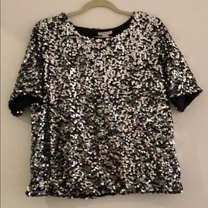 Sequined t-shirt from H&M